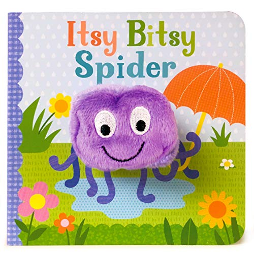 Itsy Bitsy Spider Finger Puppet Board Book