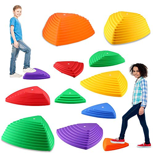 IROO Balance Stepping Stones Set for Kids Play Indoor and Outdoor