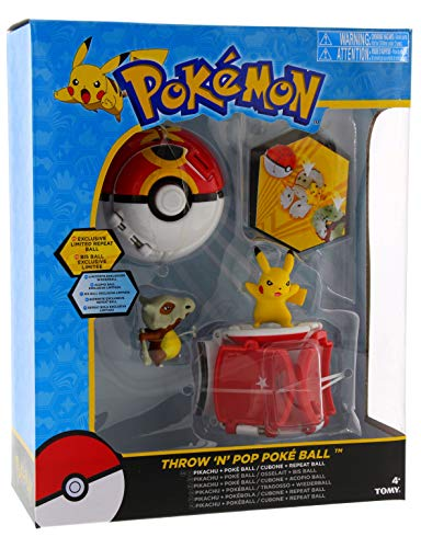 Pokémon Throw 'n' Pop Poké Ball Pikachu