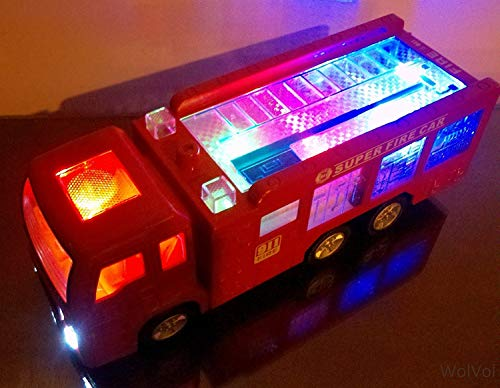 WolVol Electric Fire Truck Toy (Best Budget Option)