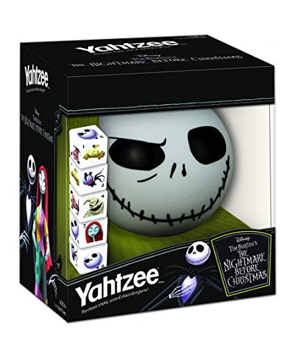 Disney Yahtzee The Nightmare Before Christmas Dice Game