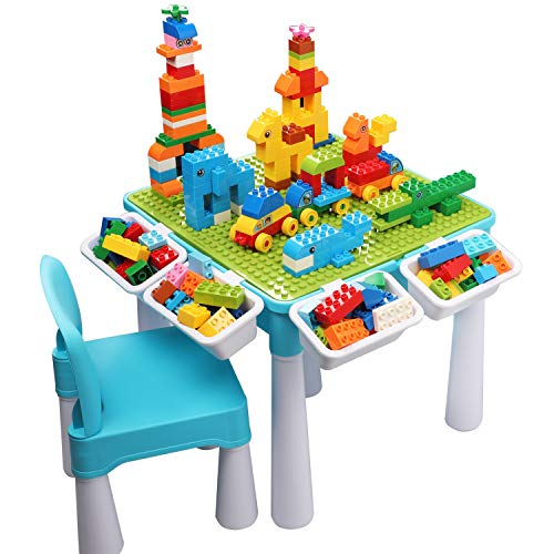 Kids 5-in-1 Multi Activity Table Set