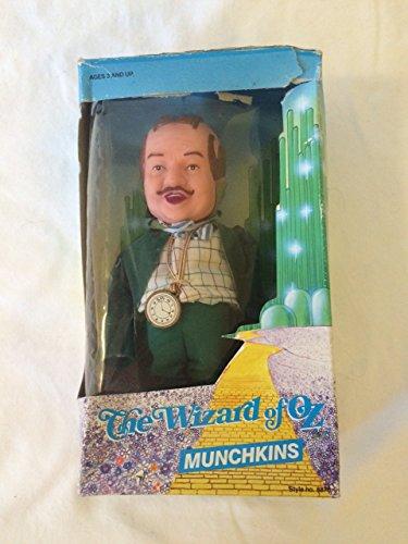 The Wizard of Oz MUNCHKINS MAYOR Doll w Thin Head (1988 MULTI Toys)