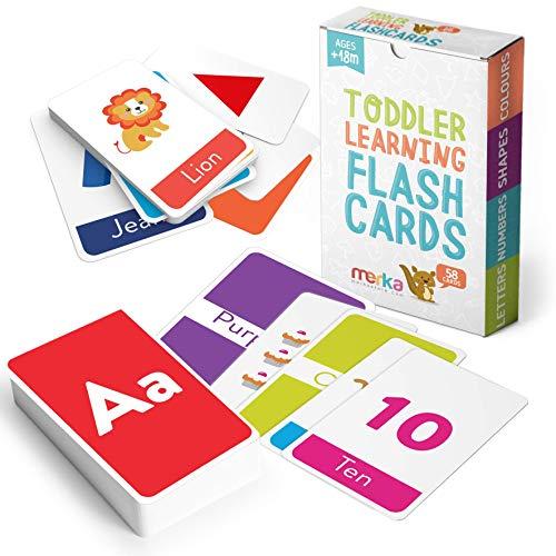 merka Educational Flash Cards