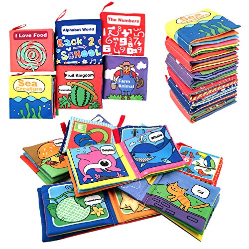 Cloth Book for Baby Soft Activity Books