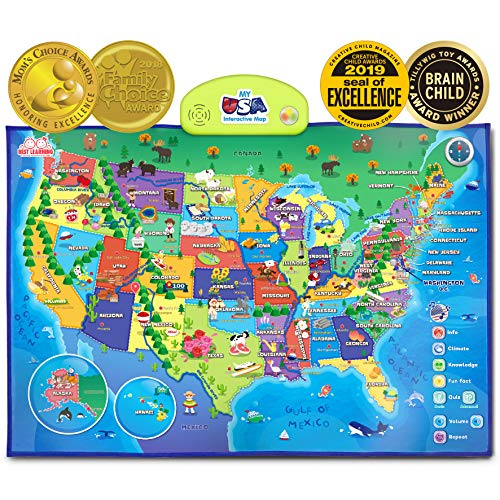 i-Poster My USA Interactive Map