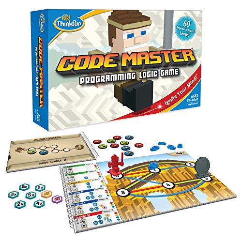 ThinkFun Code Master Programming Logic Game and STEM Toy (Best Budget Option Ages 10, 11 and 12)