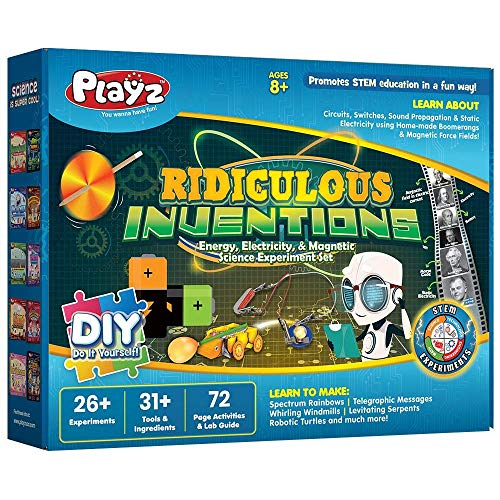Playz Ridiculous Inventions Science Kit - Magnet Experiments