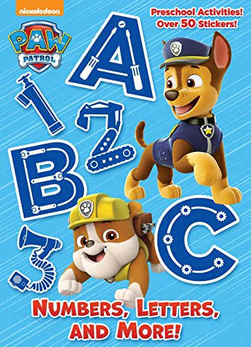 Numbers, Letters and More! (PAW Patrol) Paperback