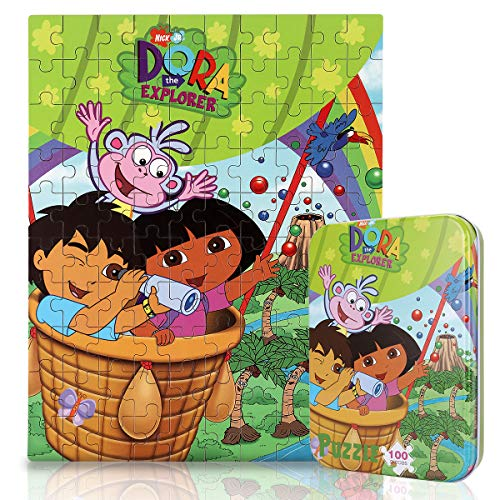 Dora the Explorer 100-Piece Jigsaw Puzzle