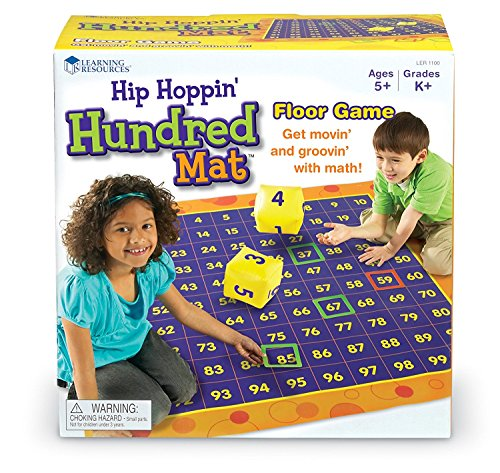 Learning Resources Hip Hoppin' Hundred Mat