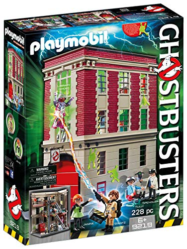 PLAYMOBIL Ghostbusters Firehouse - Best Quality Option