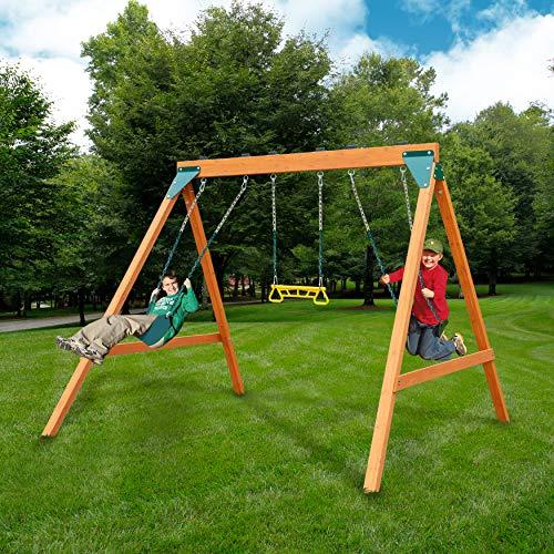 Ranger Wooden Swing Set
