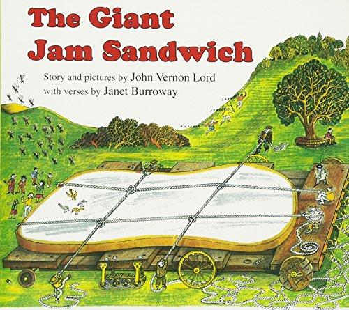 The Giant Jam Sandwich Board book