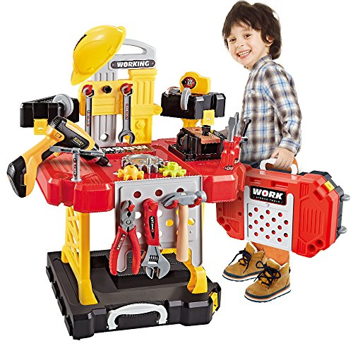 Toy Choi's Construction Toy Workbench for Toddlers