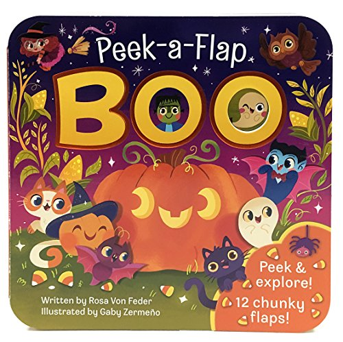 Boo: Peek-a-Flap Board Book - Best Eco-Friendly Option