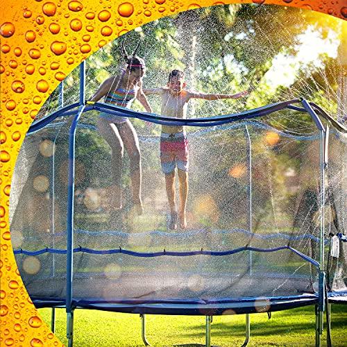 ThrillZoo Waterpark Trampoline Sprinkler (Best Quality Option)