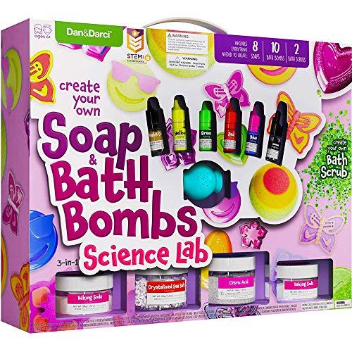 Soap & Bath Bomb Making Kit for Kids