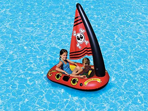 Poolmaster Pirate Boat Swimming Pool Raft
