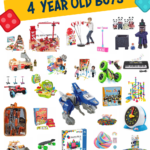 30 Gifts for 4 Year Old Boys