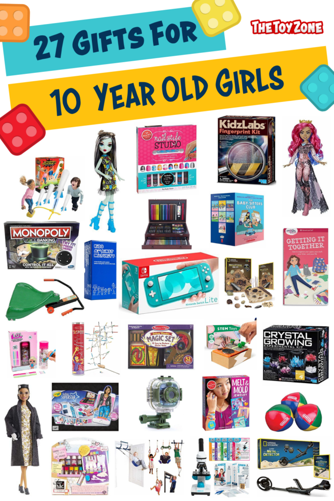 27 Gifts for 10 Year Old Girls