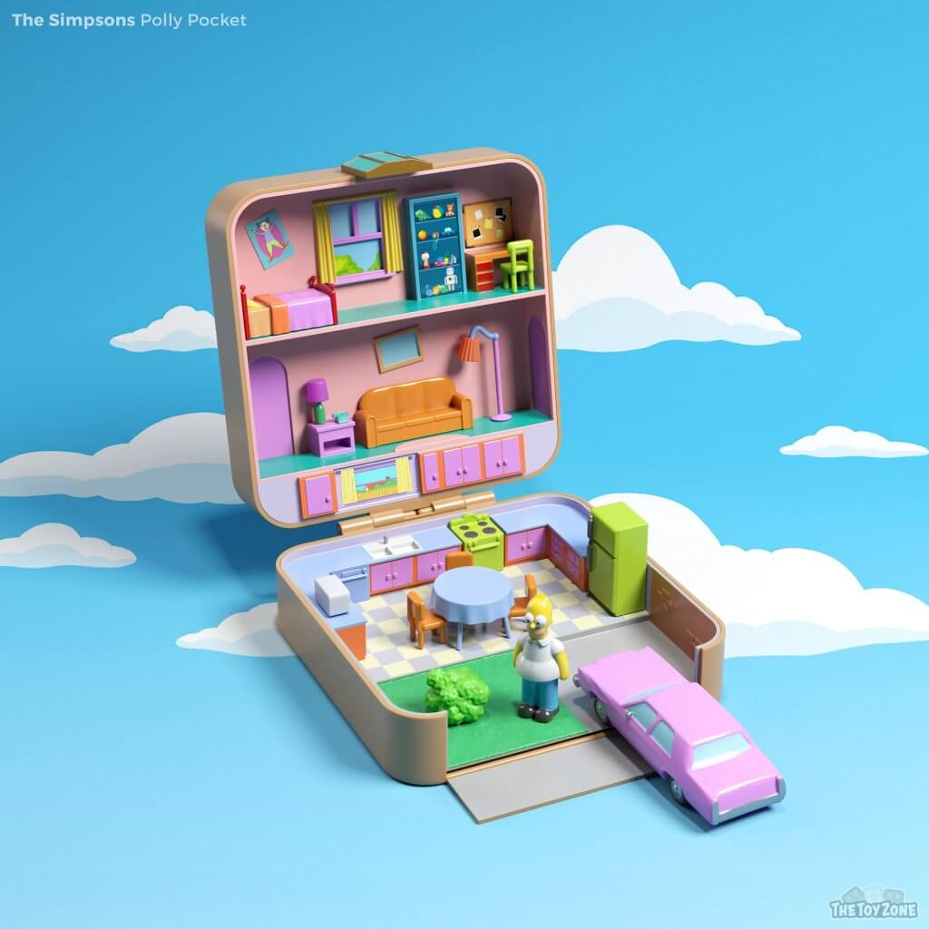 The Simpsons Polly Pocket