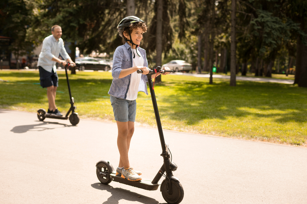 Header Nest Motorized Scooter for Kids