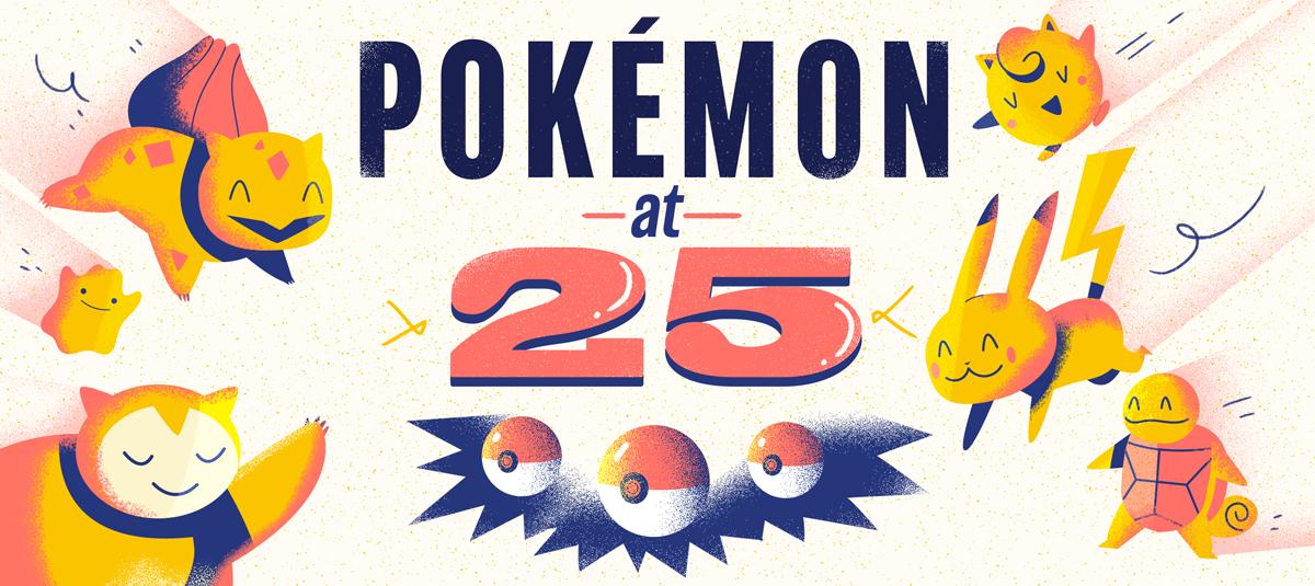 Header Pokemon at 25