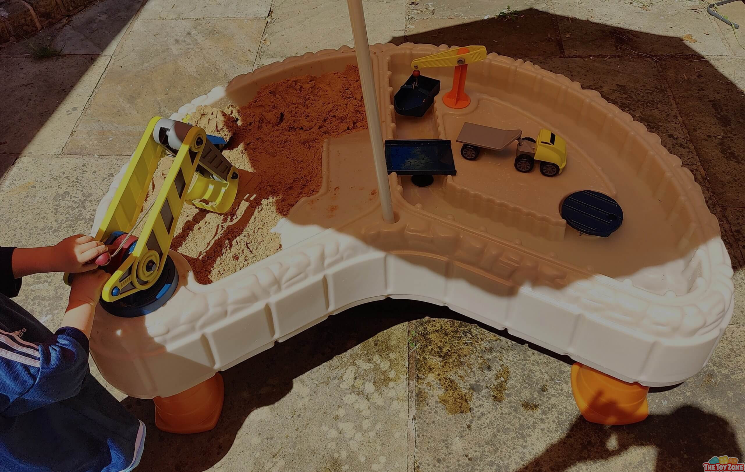 Little Tikes Builders Bay Sand Water Table Review