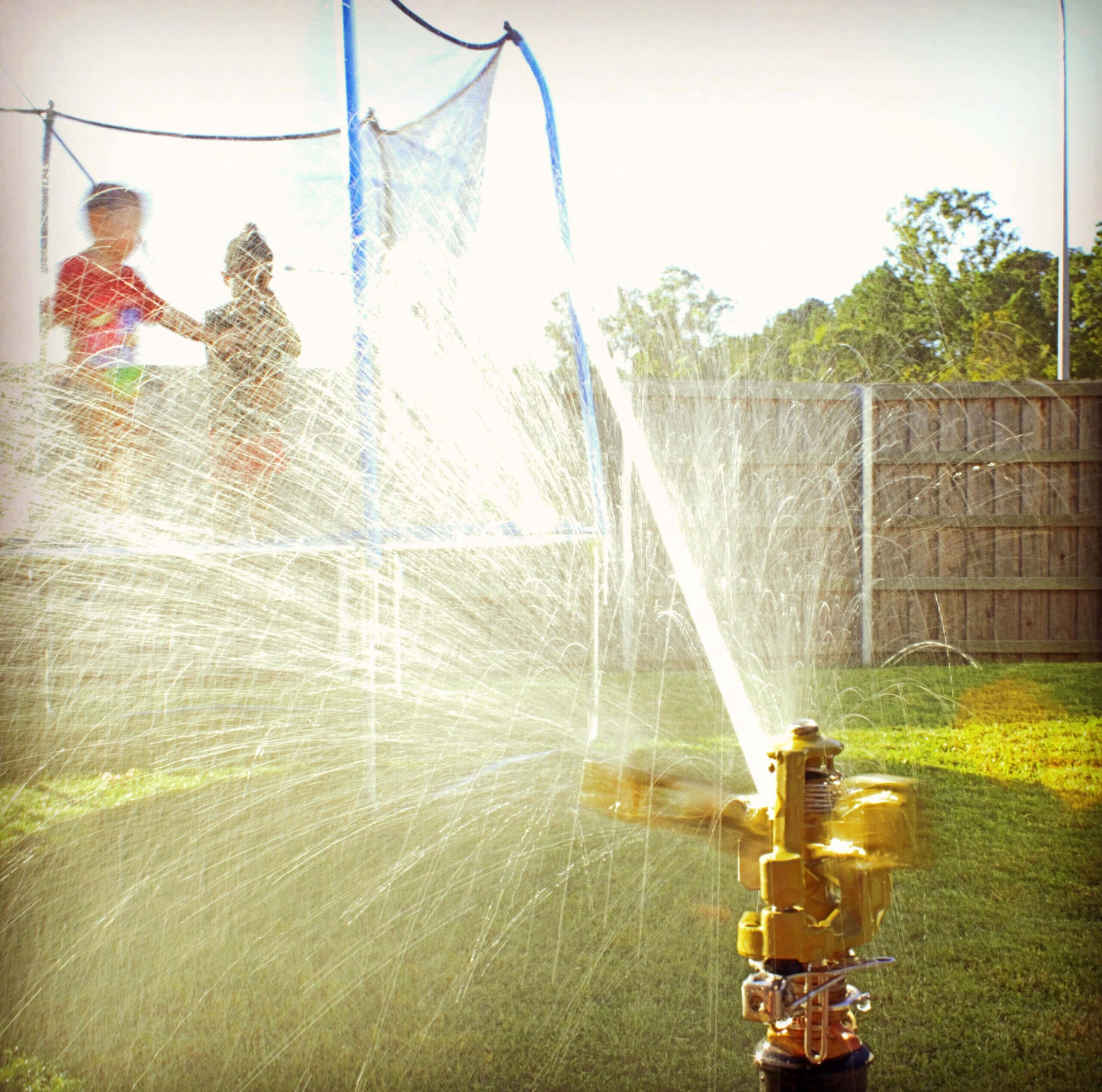 Best Trampoline Sprinklers